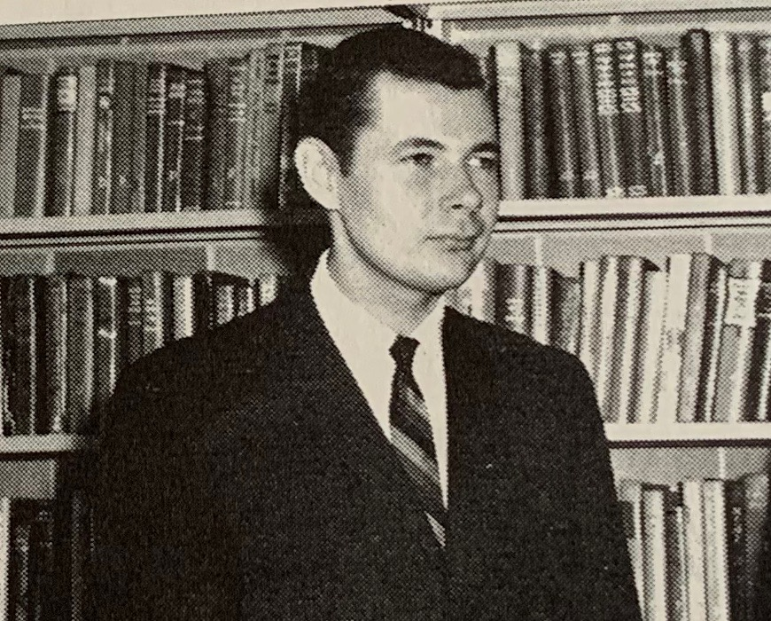 Donald B Troutman in 1963