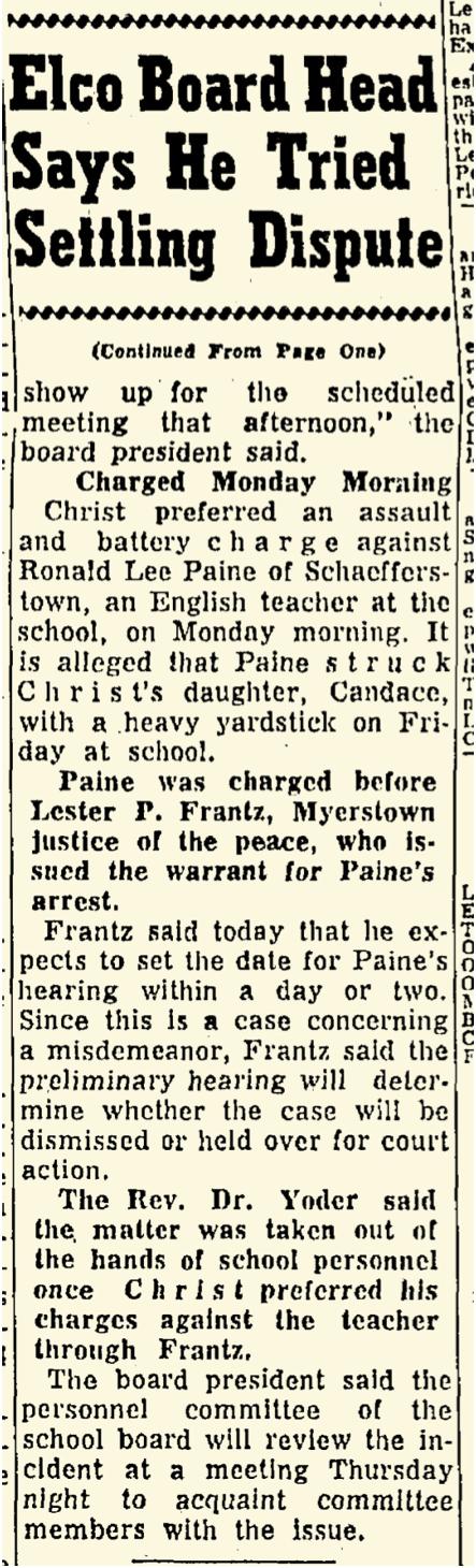 Lebanon Daily News April 29, 1964 — p 29