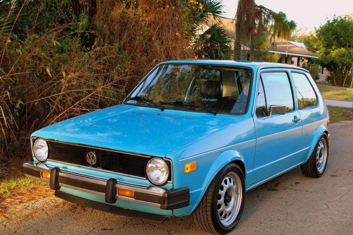 My 1978 blue VW Rabbit looked like this one
