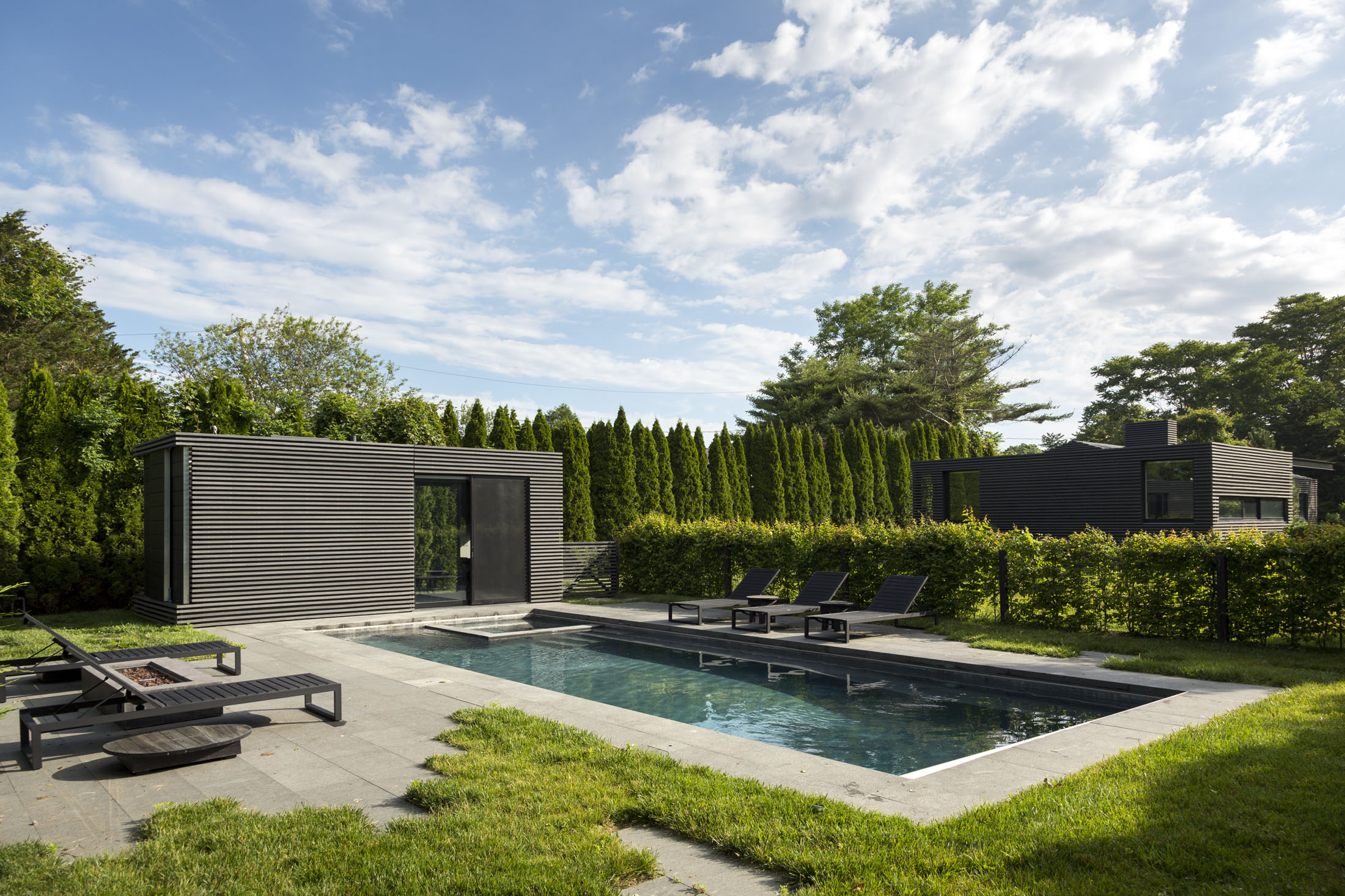 Private Residence  Sagaponack NY  Oza Sabbeth Architects   View Full Project