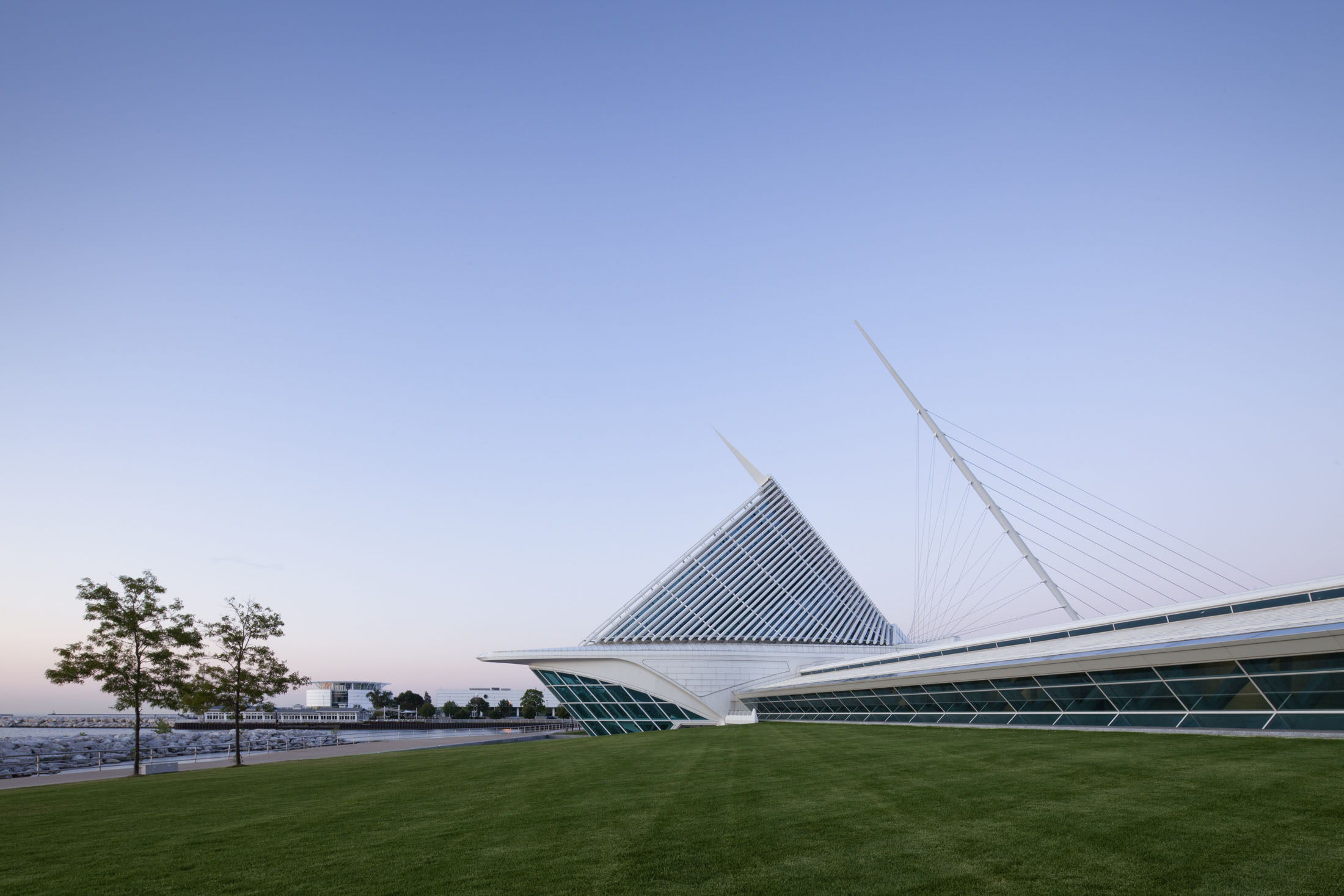 Quadracci Pavilion  Milwaukee Art Museum  Santiago Calatrava   View Full Project