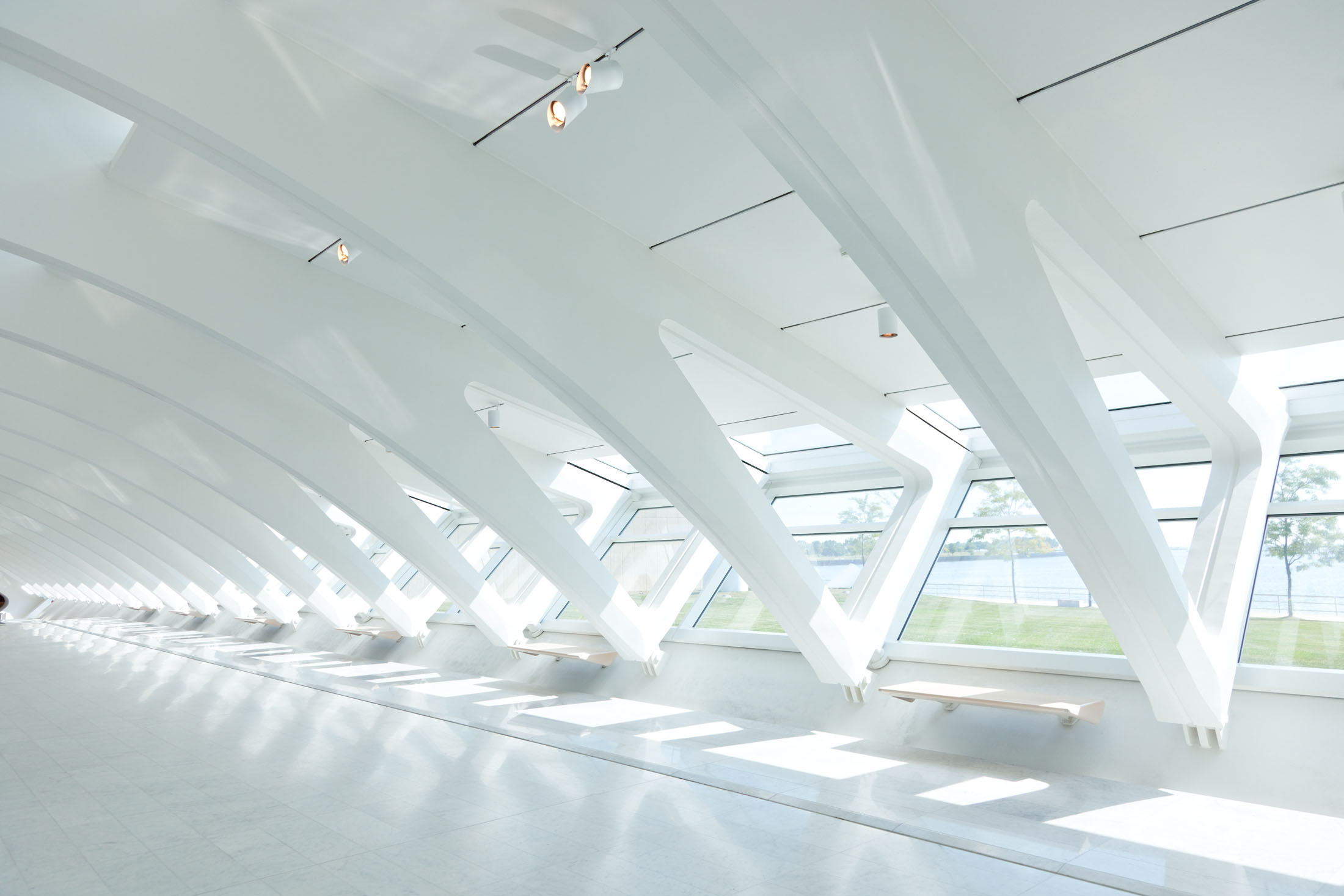 Quadracci Pavilion,Milwaukee Art Museum  Milwaukee WI  Santiago Calatrava   View Full Project