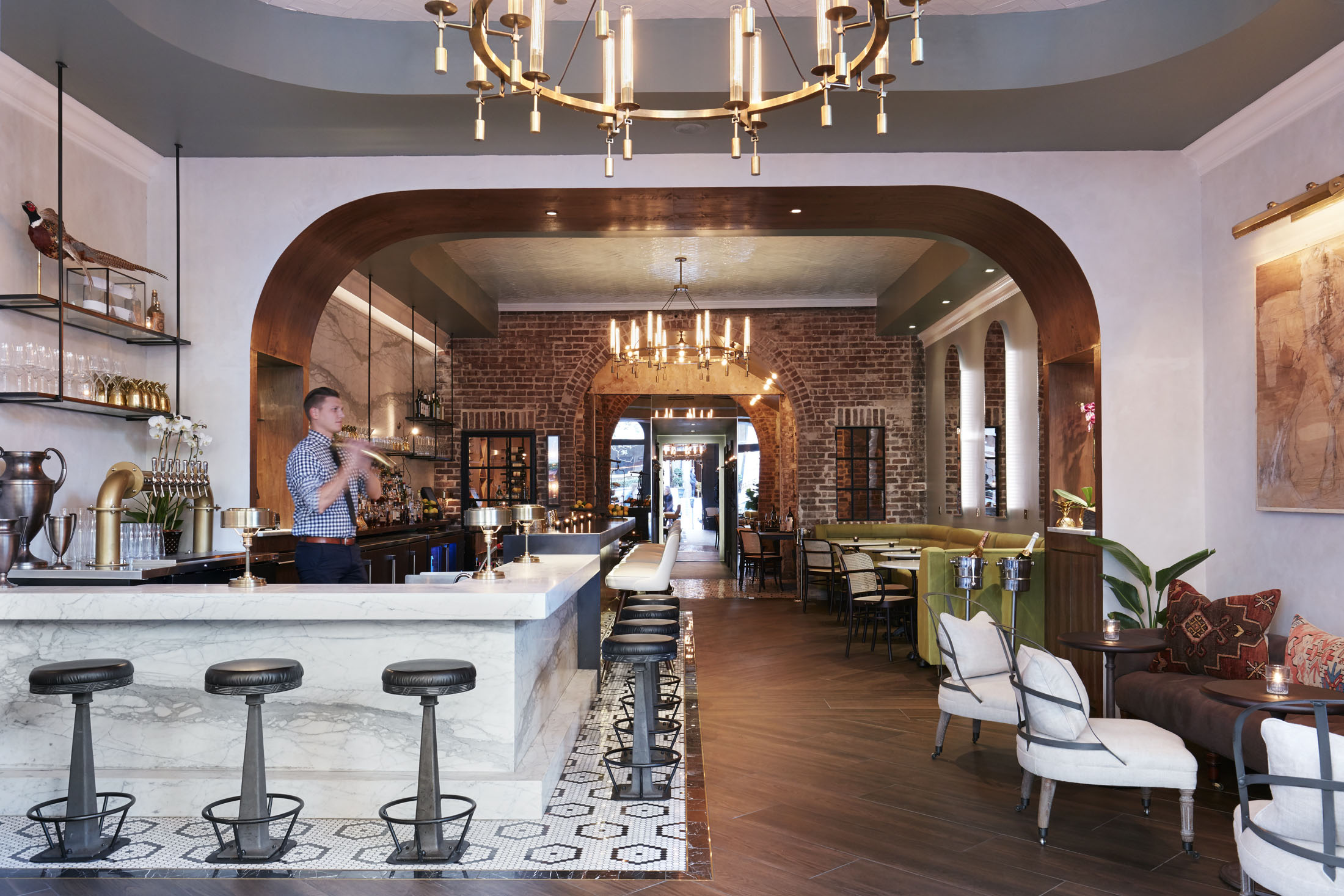 Artillery Bar  Savannah GA  LS3P Dawson and Daniel Reed Hospitality   View Full Project