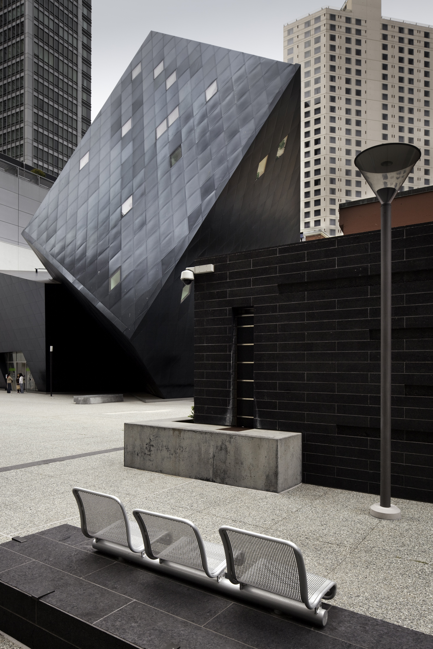 Contemporary Jewish Museum  San Francisco CA  Daniel Libeskind   Back to Portfolios