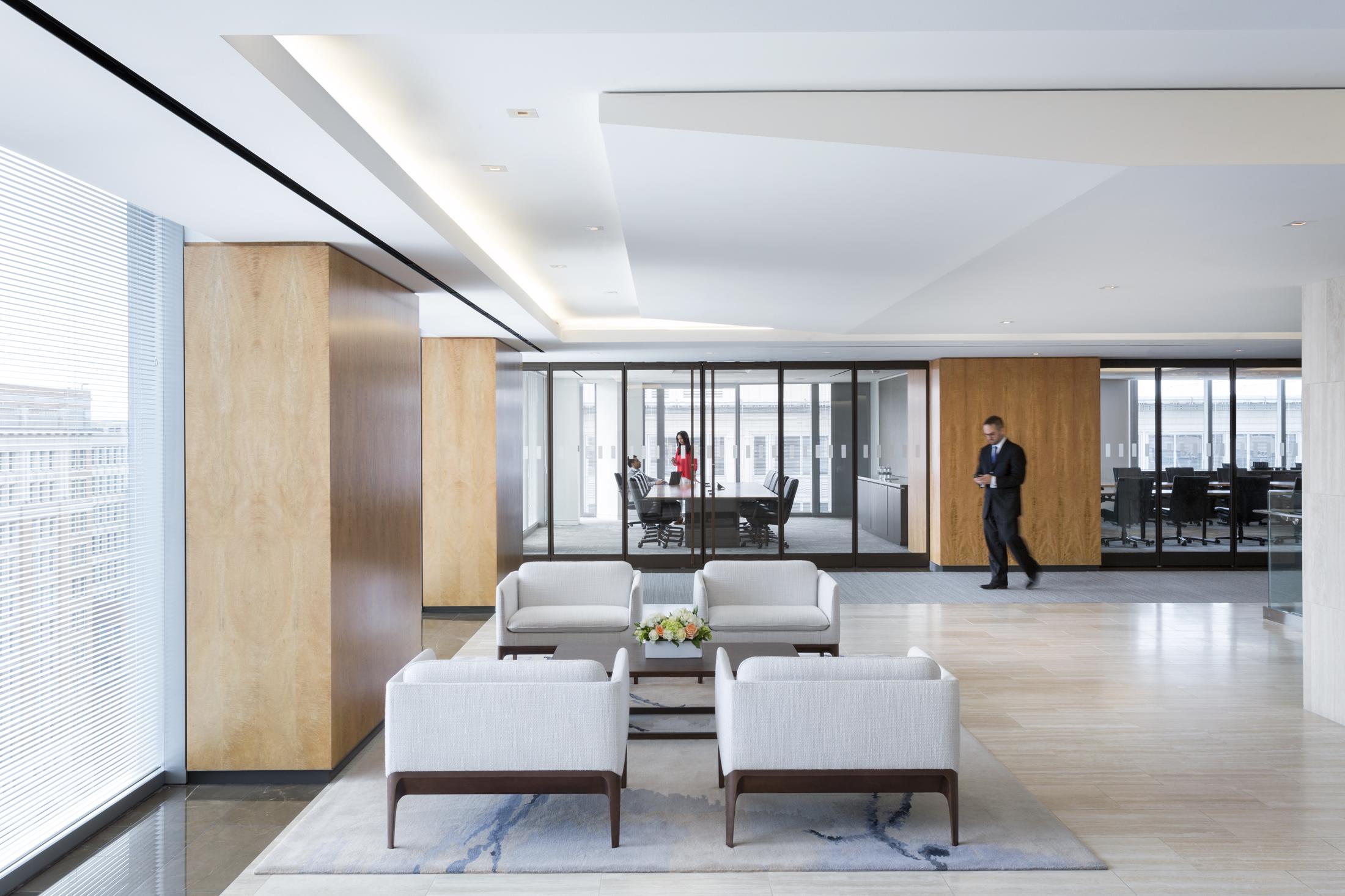 Brownstein Hyatt Office  Washington DC  Perkins+Will   Back to Portfolios