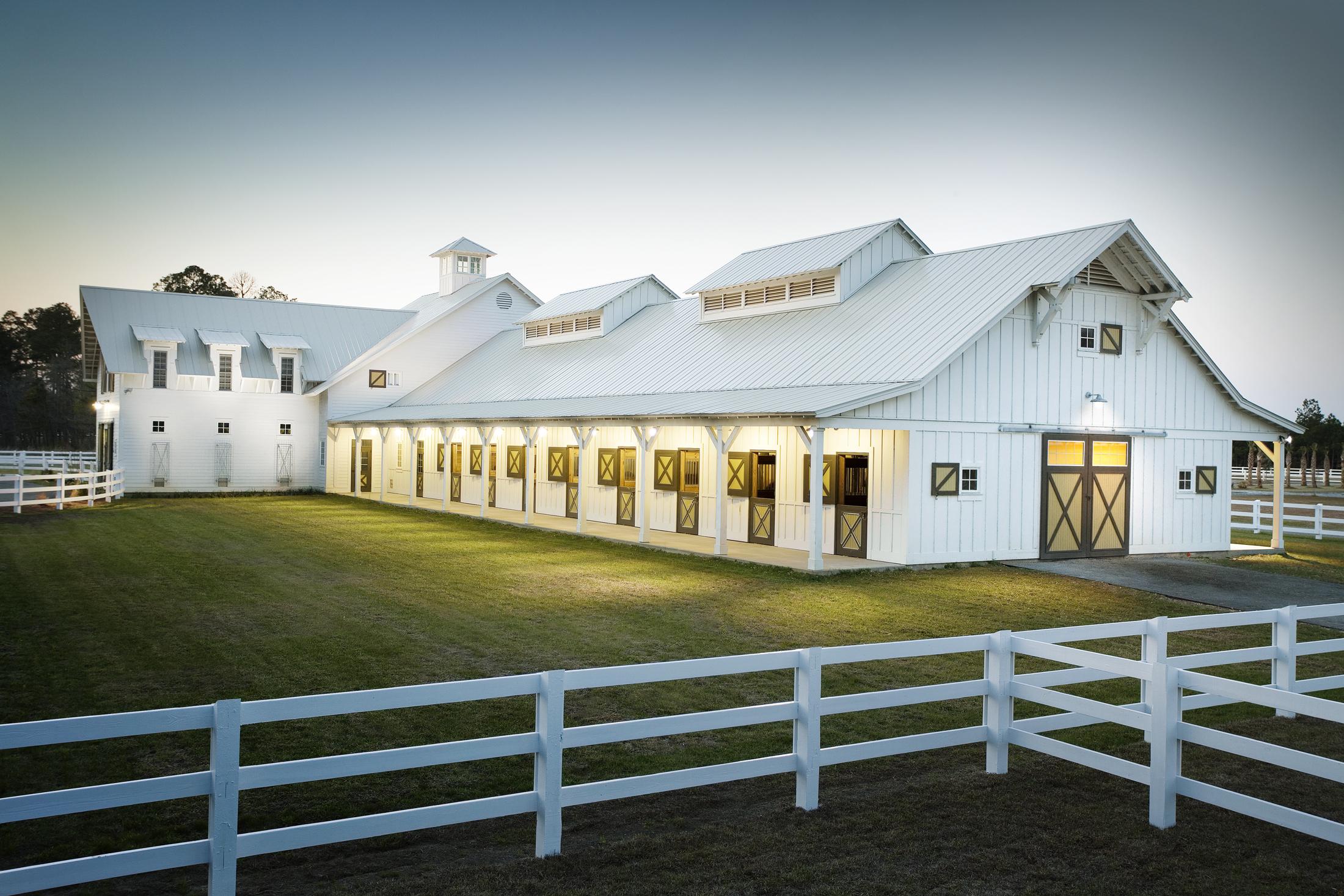 SCAD Ronald C Waranch Equestrian Center  Hardeeville SC  Dawson Wissmach   Back to Portfolios