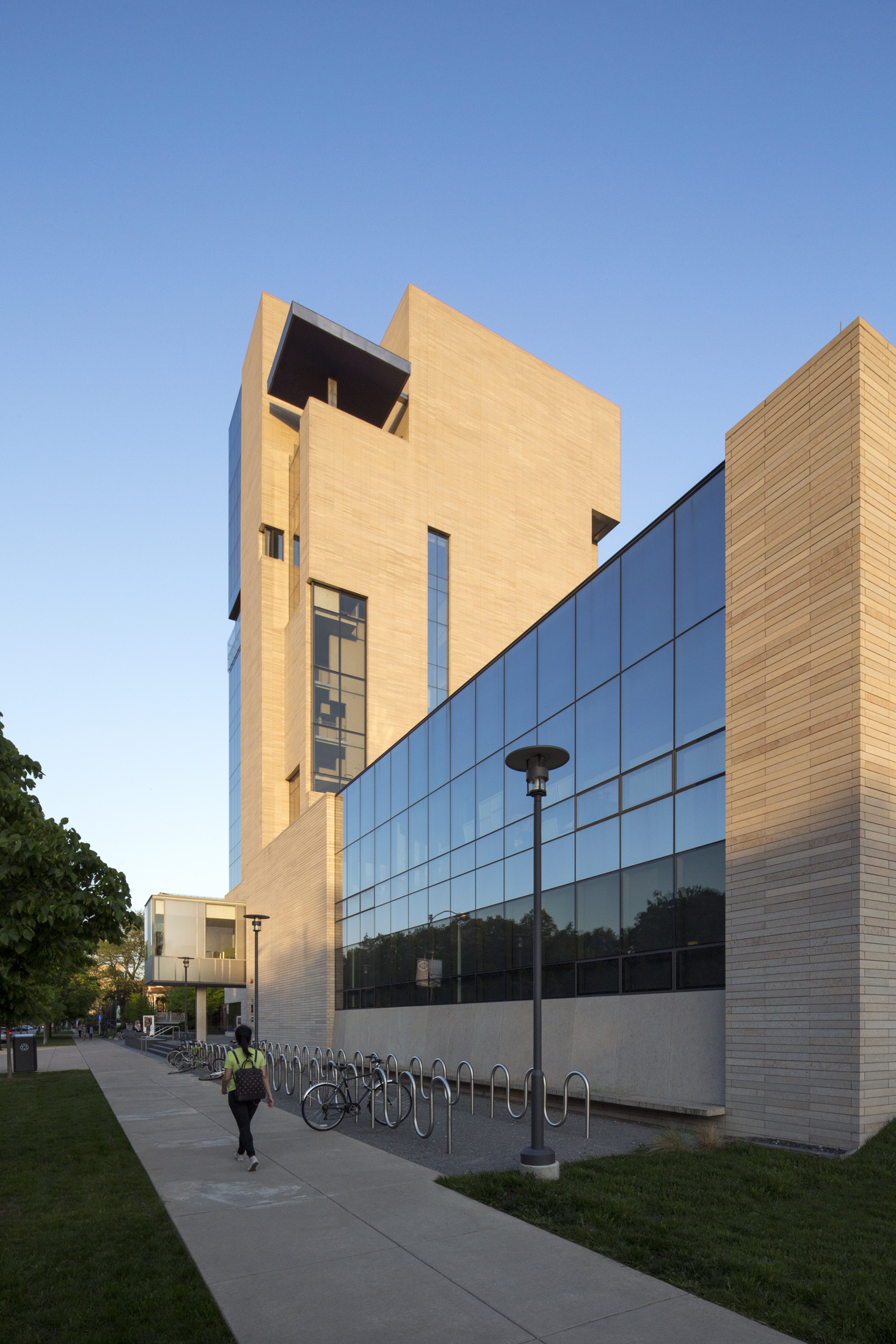 Reva and David Logan Center for the Arts  University of Chicago, Chicago IL  Tod Williams and Billie Tsien   Back to Portfolios