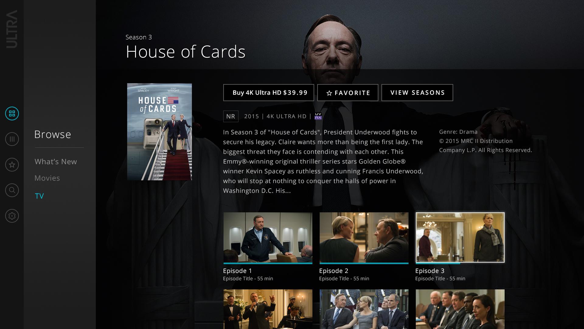 TV season detail