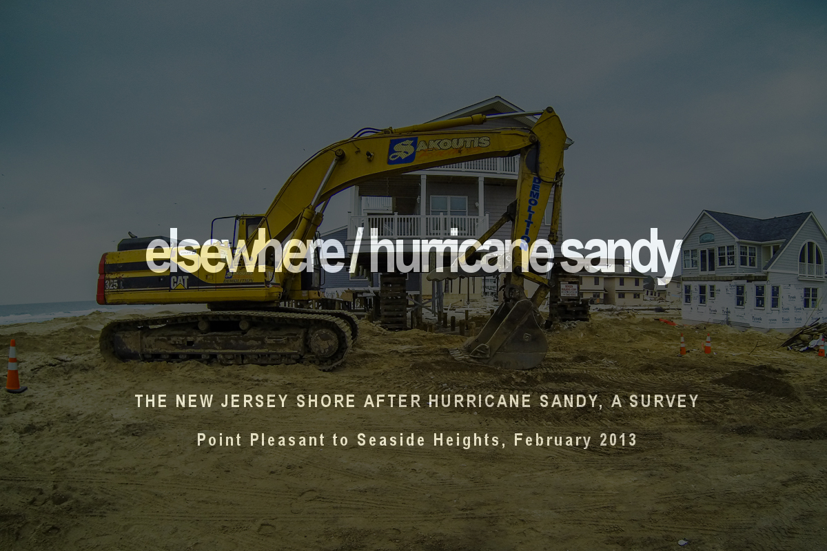 Elsewhere / Hurricane Sandy