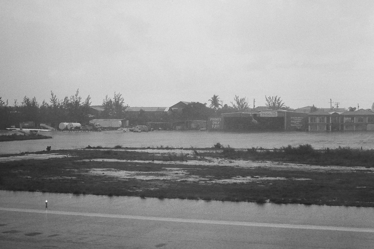 Provo, Turks and Caicos  April 2016  Canon SLR 35mm BW Film