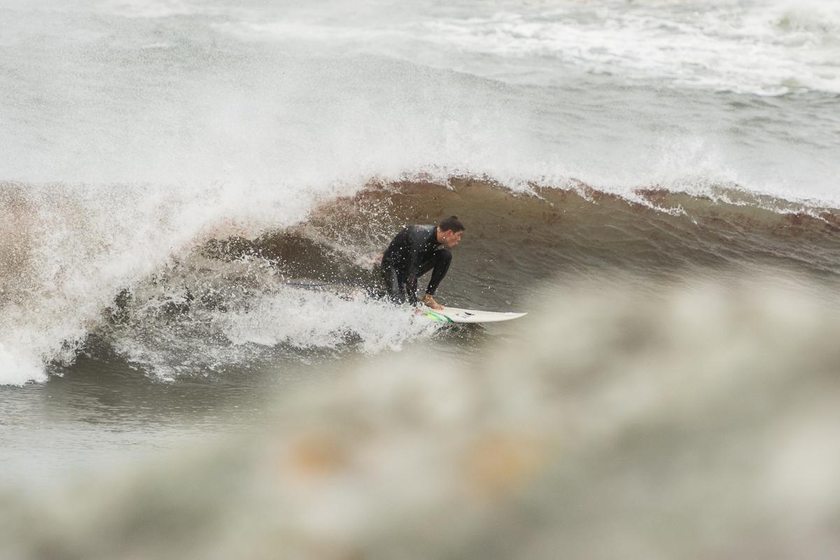 Surfer: Nick Carrellas  TS Hermine  Rhode Island  September 2016  Nikon DSLR