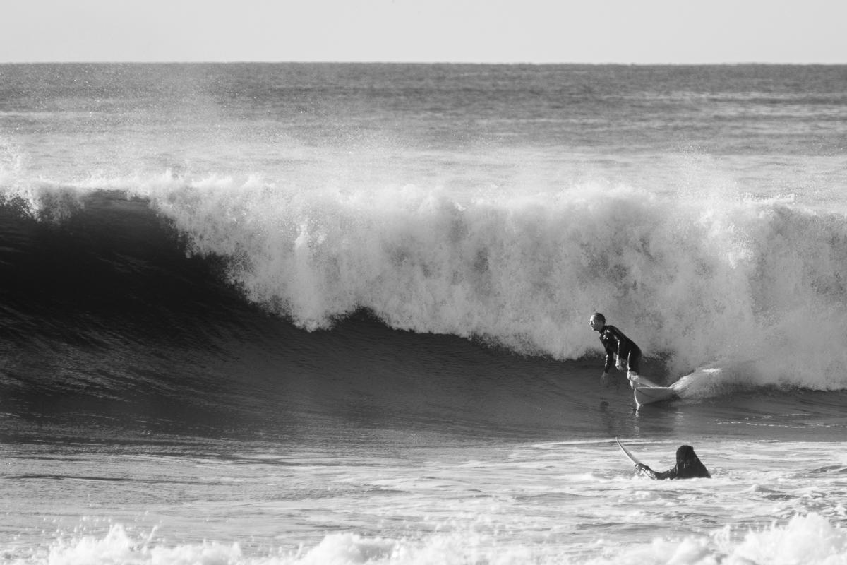 Surfer: Frank Hanson  Hurricane Gaston  Rhode Island  September 2016  Nikon DSLR