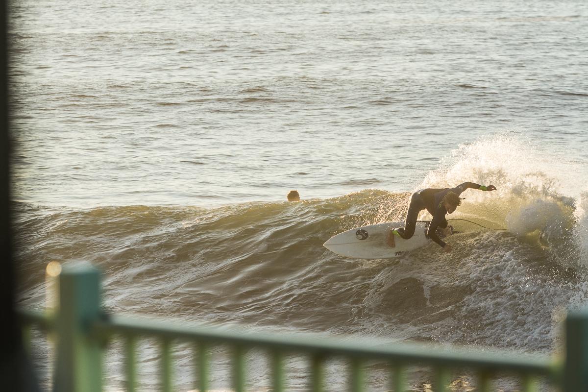 Surfer: Sean Dungan  Hurricane Gaston  Rhode Island  September 2016  Nikon DSLR