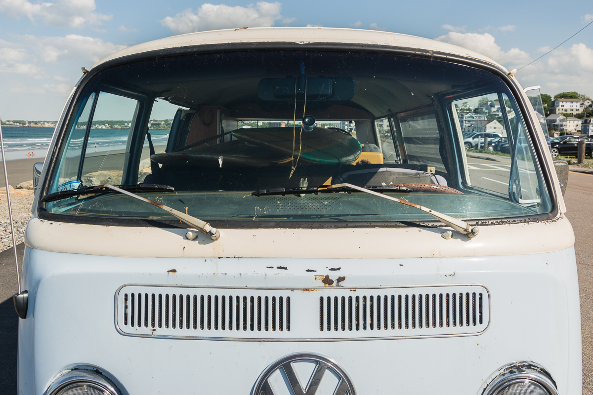 VW, Nantasket Beach, Hull, MA, June 2016, Nikon DSLR