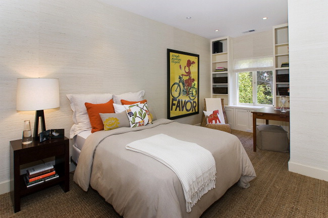Guest Bedroom at Ashbury Heights home