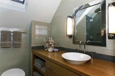 Custom Guest Bathroom at Ashbury Heights Home