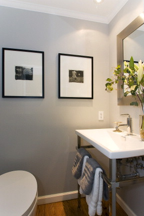 Guest Powder Room at Ashbury Heights Home