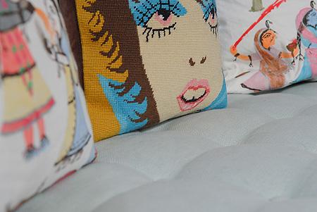 Vinette of Sofa design