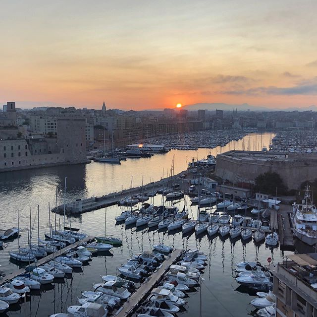 Good morning from Marseille