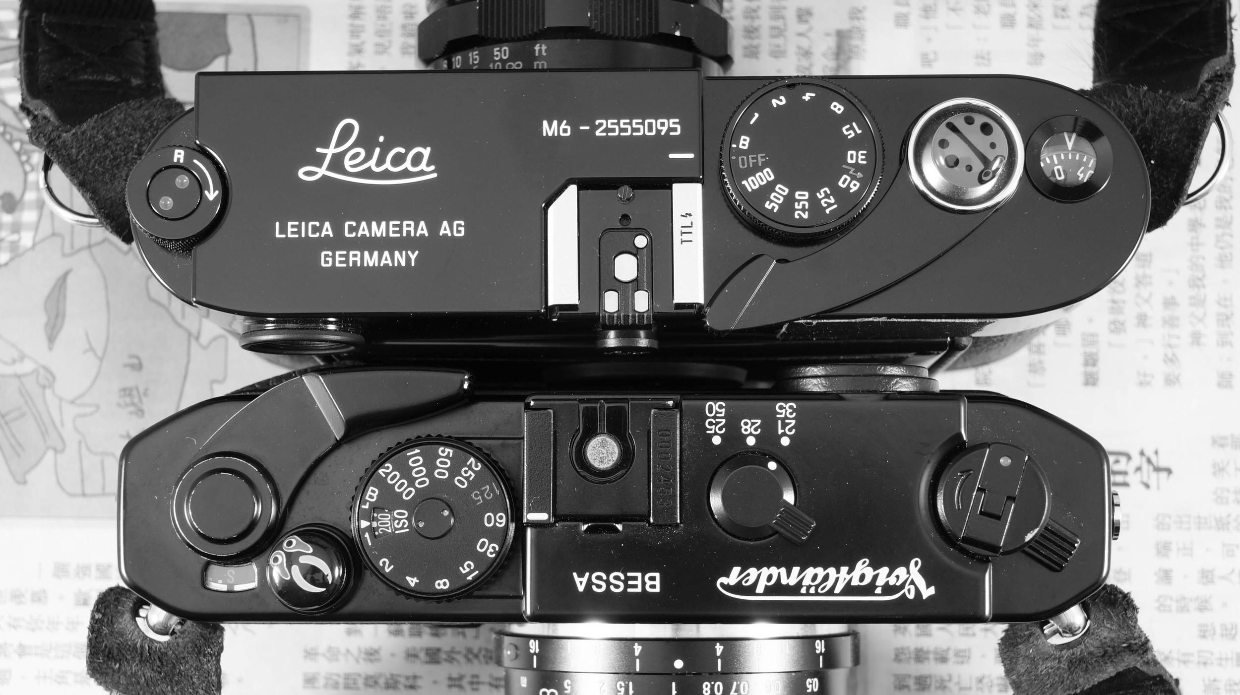 Leica M6 or Voigltander Bessa R4M | Film Camera Review | Film