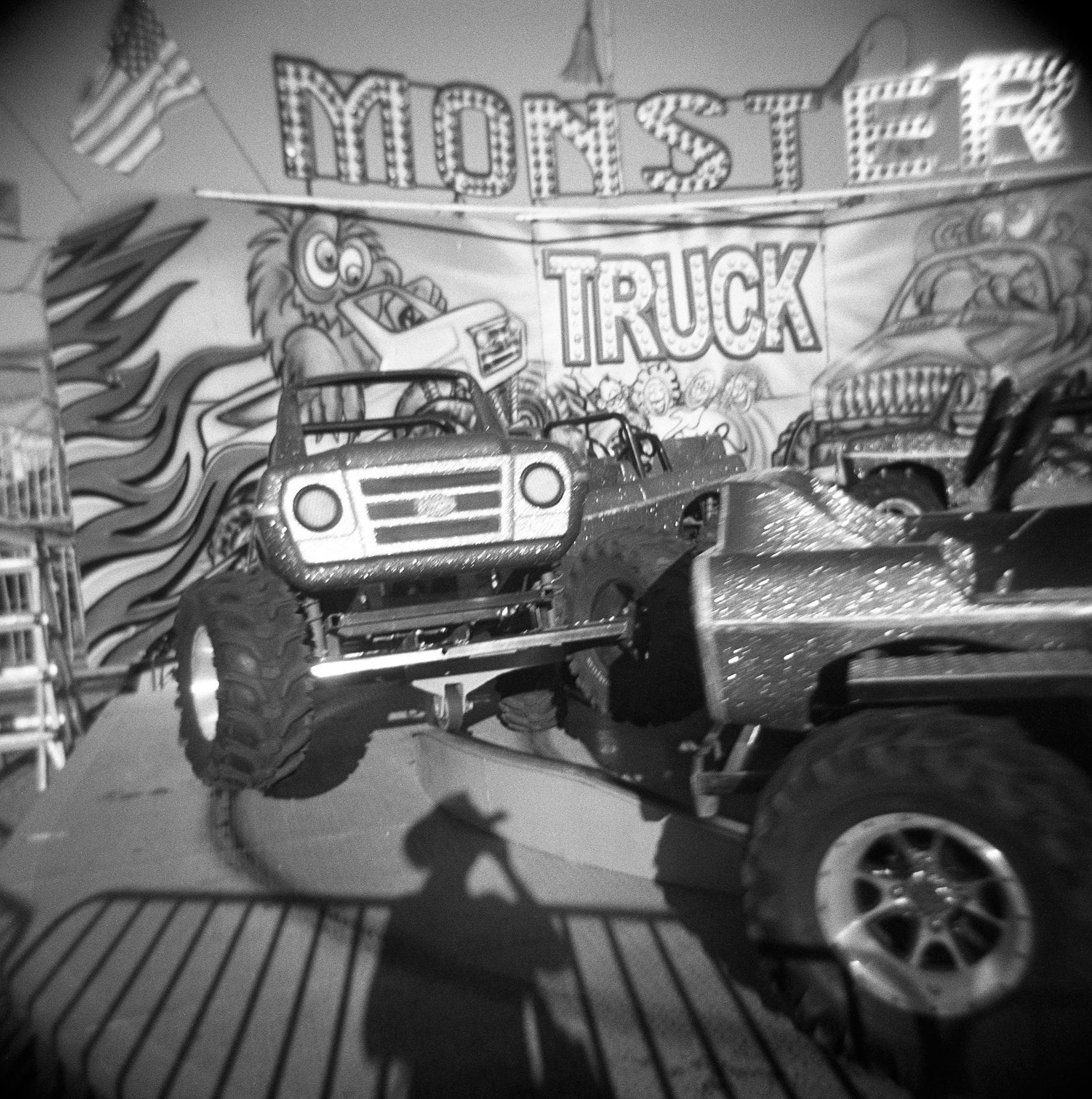 Monster truck | Holga 120n | Kodak Tri-X | Amy Jasek