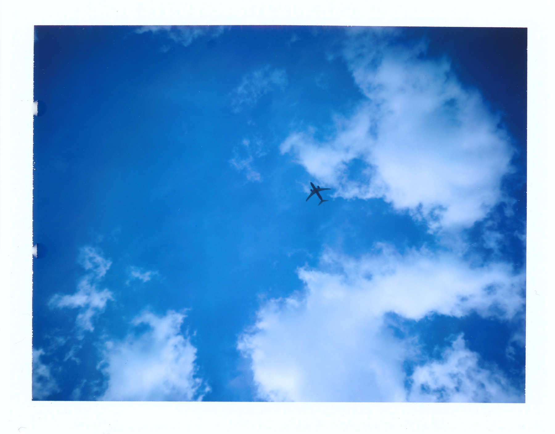 take off | Polaroid EE100 | Hans-Peter Linz