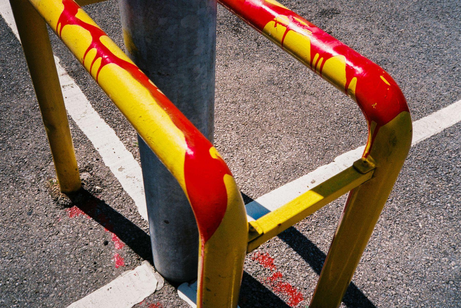 Pet Shop Car Park | Yashica Minitec AF | Oliver Liria