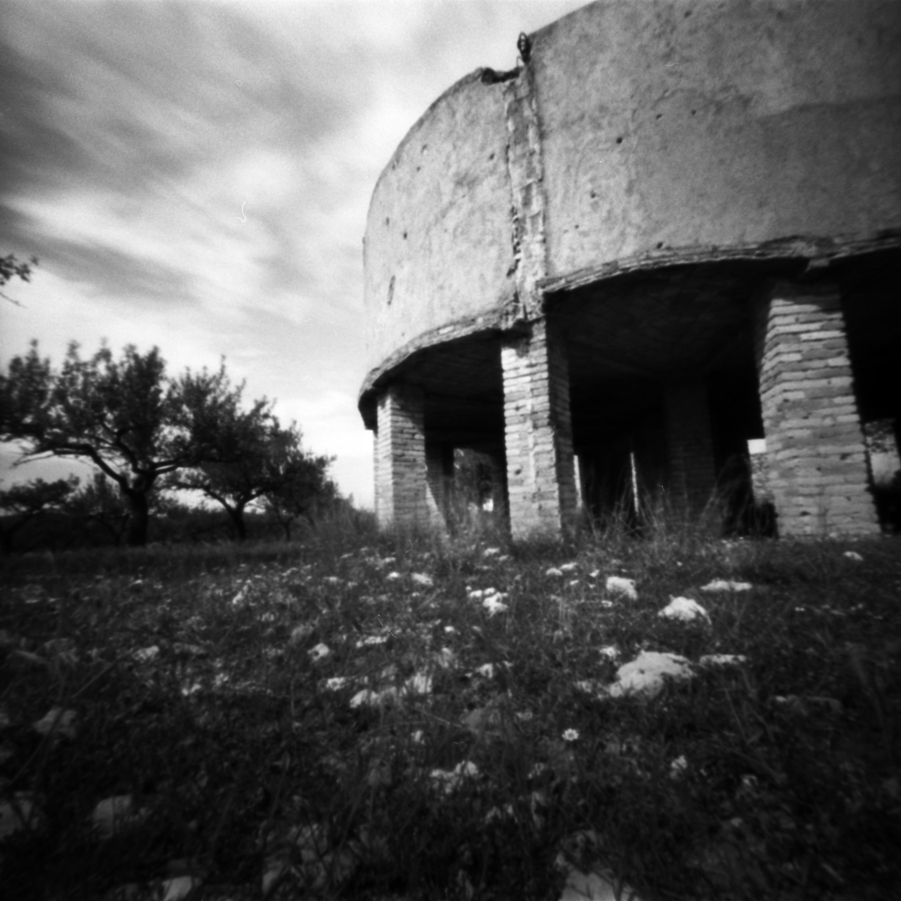 Old Water Tank | Pinhole | Jesús Joglar