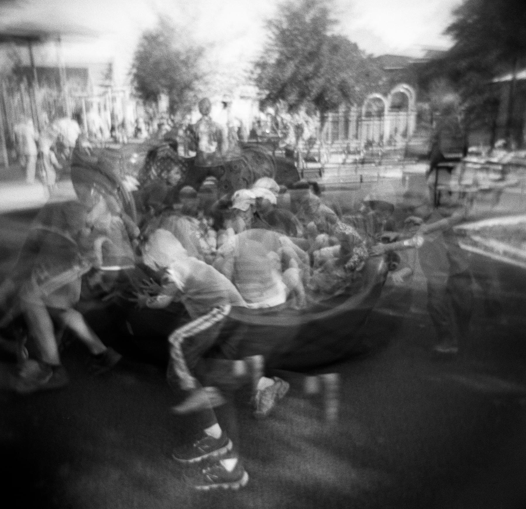 Doubly Merry   Holga 120N   Kodak Tri-X   Amy Jasek