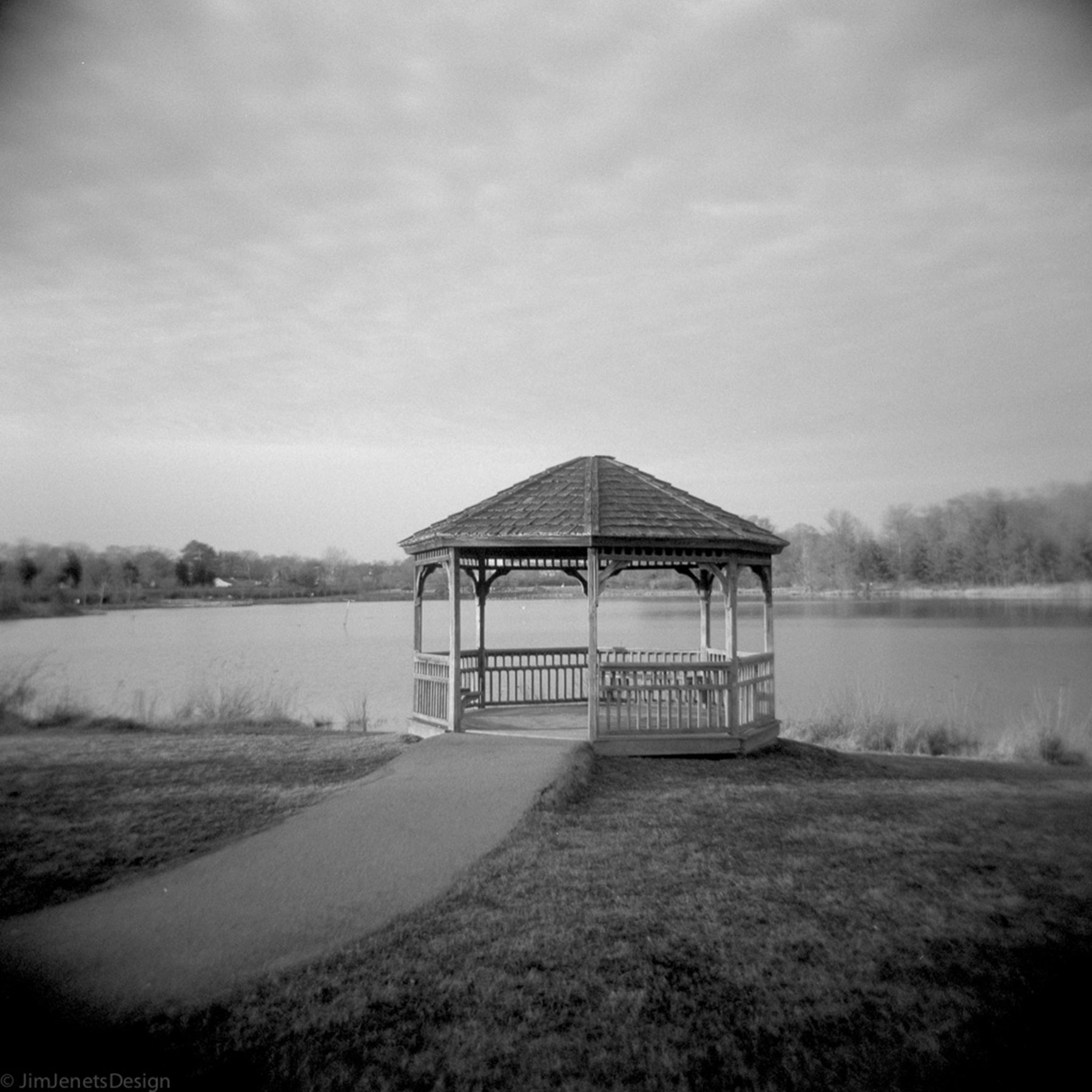 On The Lake | Holga 120N | Jim Jenets