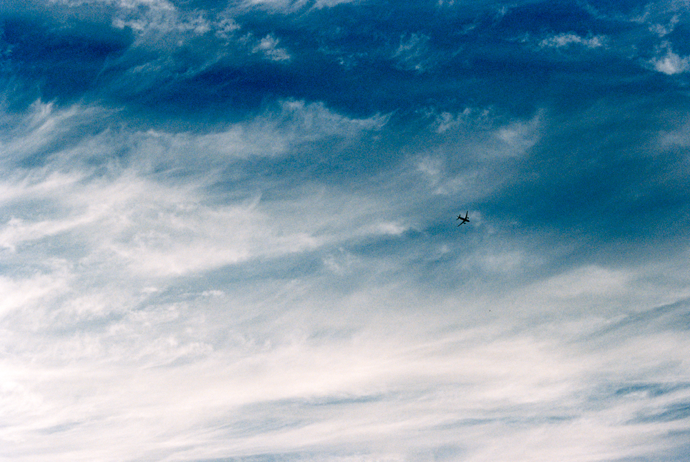 Plane in the Sea | Rebel 50mm | Stephanie Rodriguez