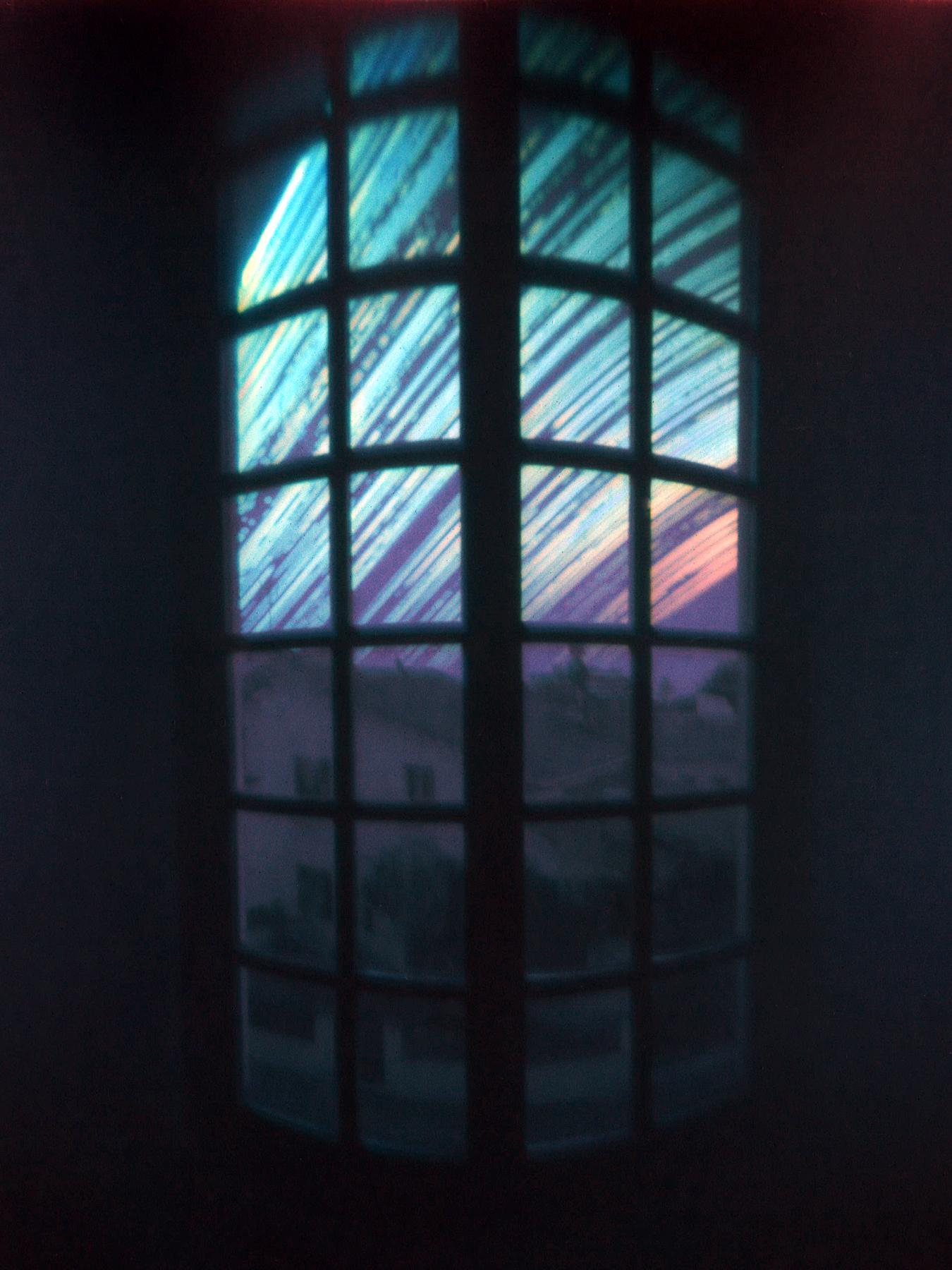 window of enlightment | solargraphy drinkcan camera pinhole | Jesús Joglar