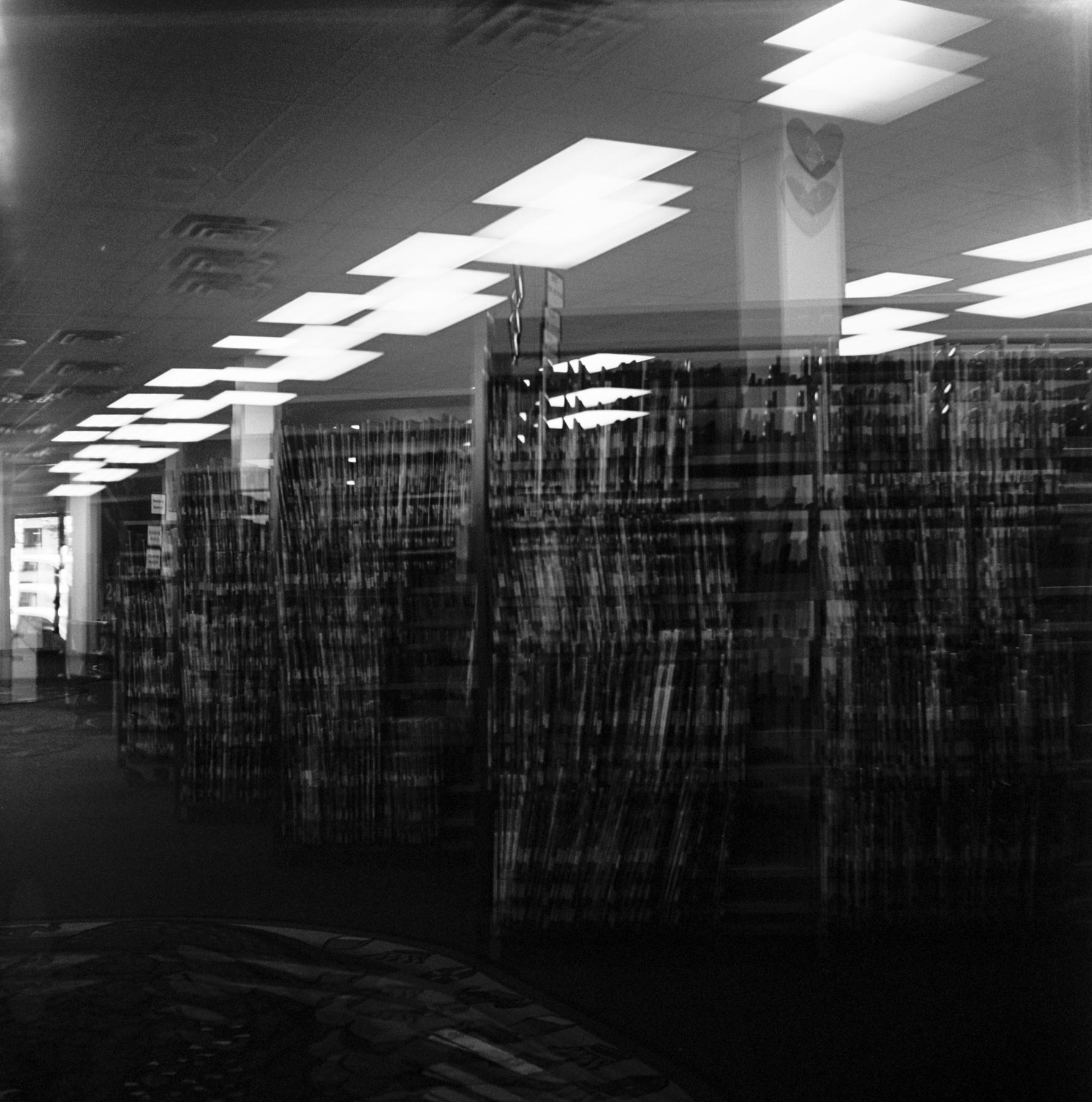 Amy Jasek  At The Library  Kodak Brownie Hawkeye  KodakTri-X