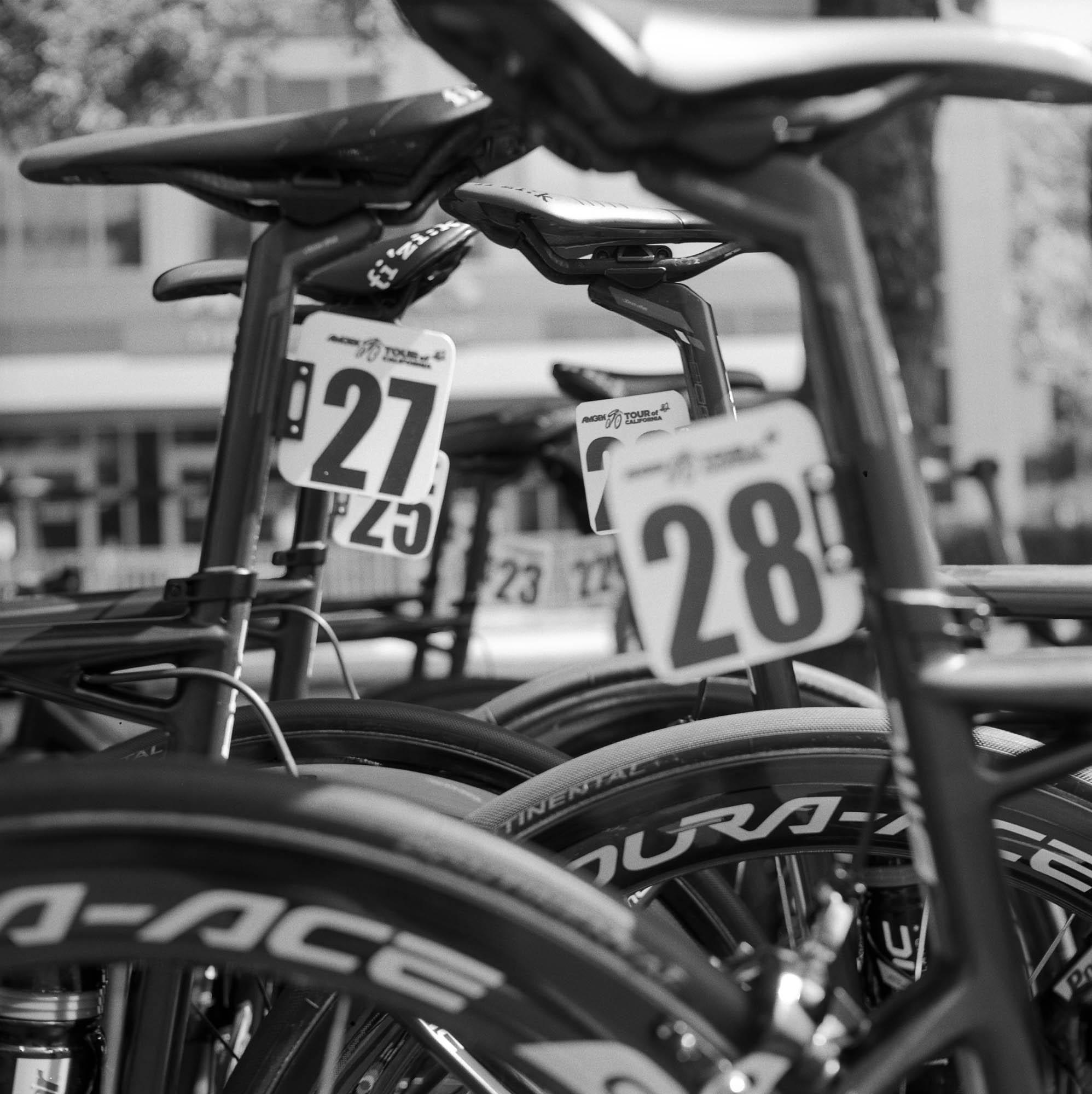 Gabi Roozee  Race Numbers  Yashica Mat LM
