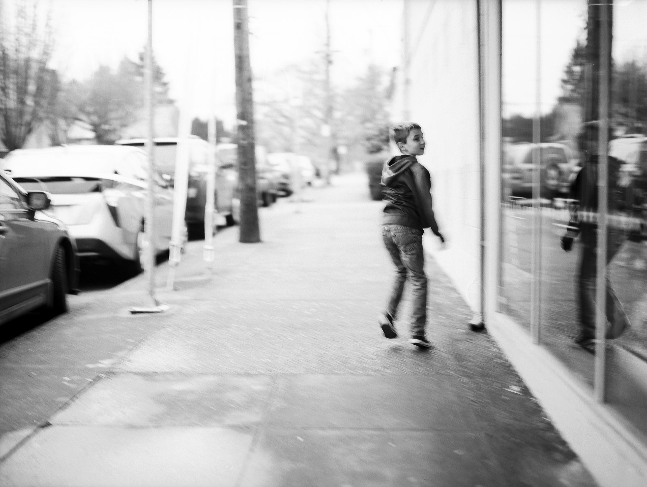 RUN! | Mamiya M645 | Ilford Pan F+ | Kelly-Shane Fuller