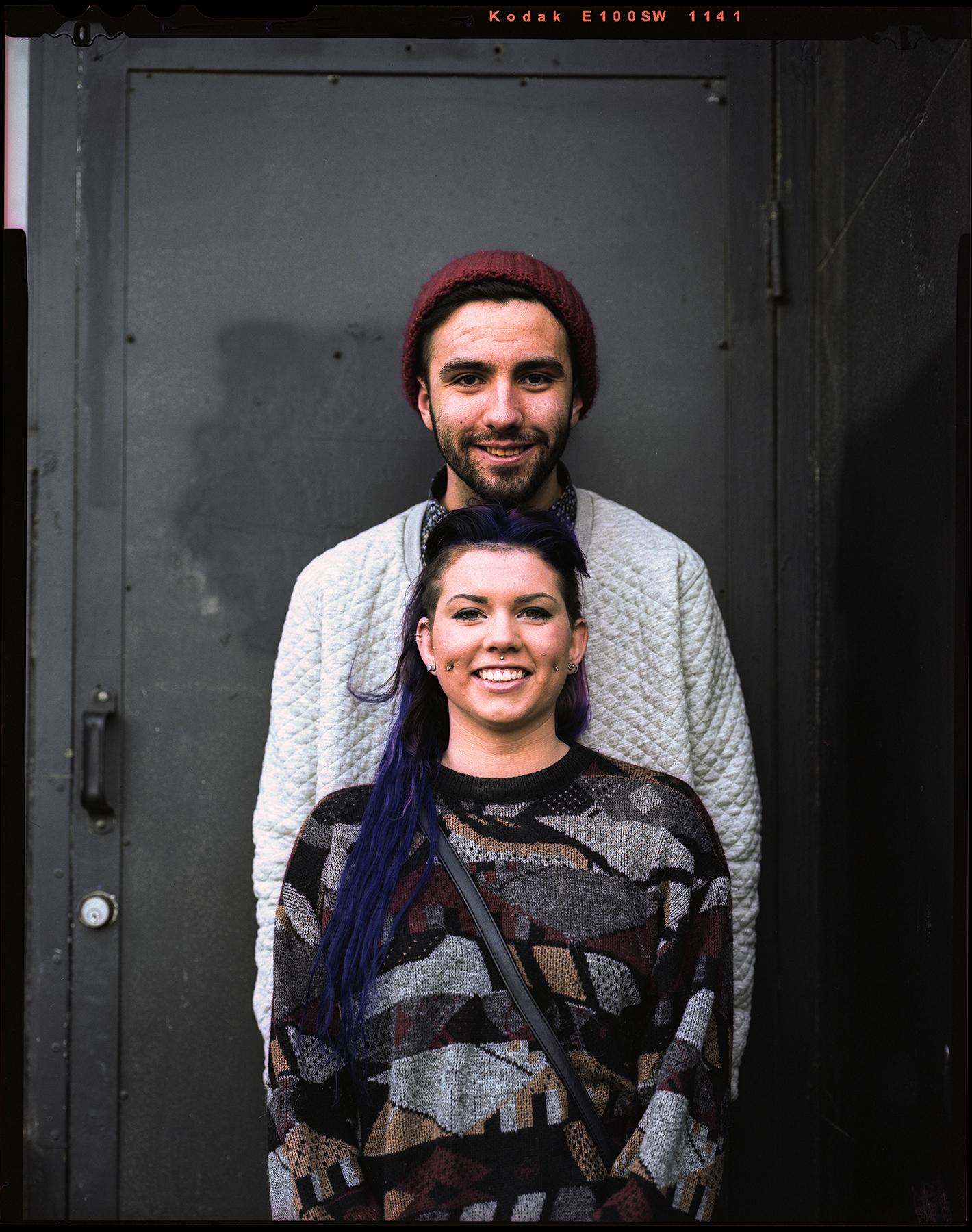 Jordan Urie | Stranger Portrait | Not A Couple | Toyo Omega View 45D Nikkor 150 f5.6