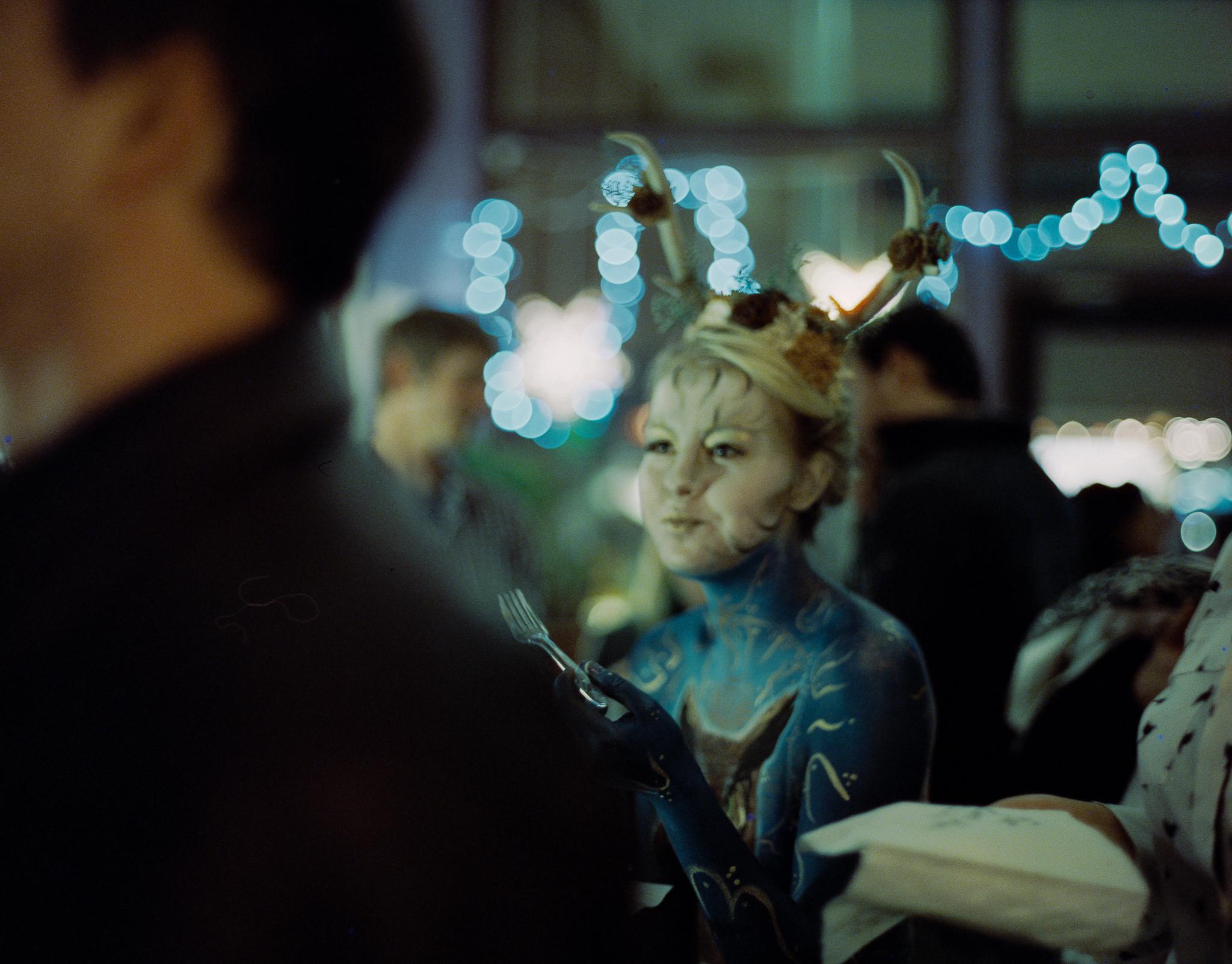 Ruby Falls | Blue Hour | Mamiya 645Pro TL | Cinestill 800T
