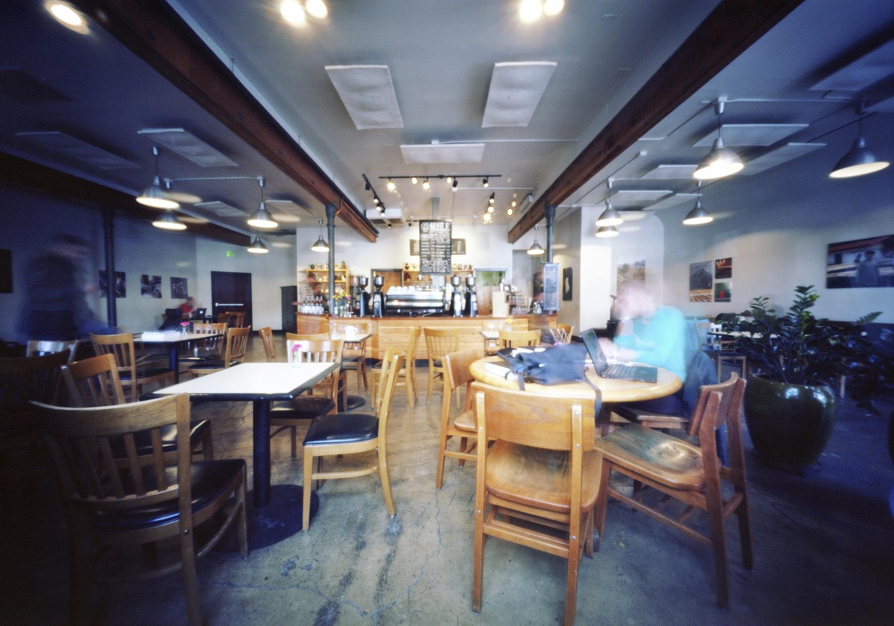 Five Minutes at Noble | Innova 6x9 Pinhole | Ektar 100 | Colton Allen