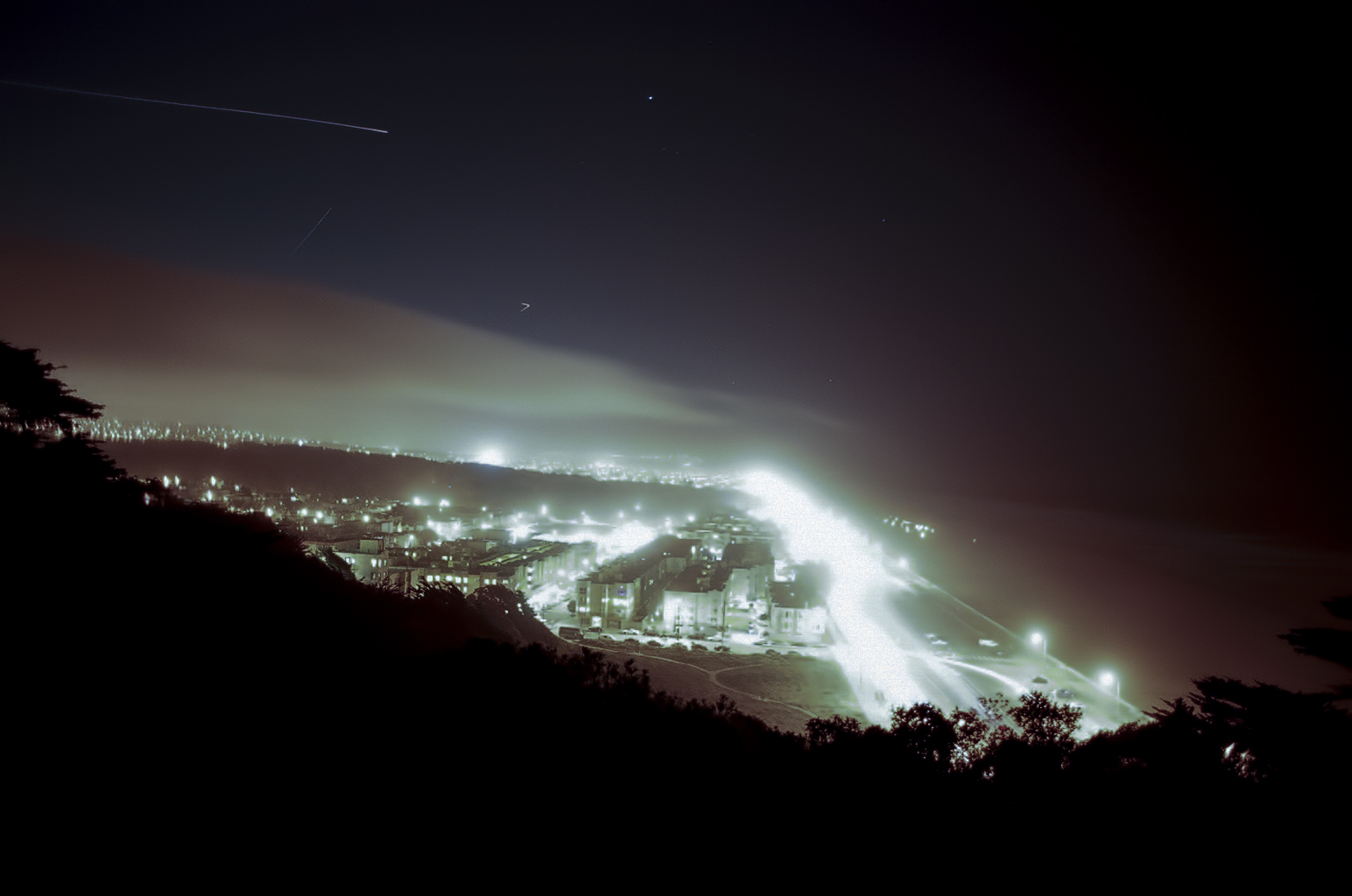 Ocean Beach Lightshow | Canon A1 | Canon 55mm SSC 1.2 | Clayton Douglas