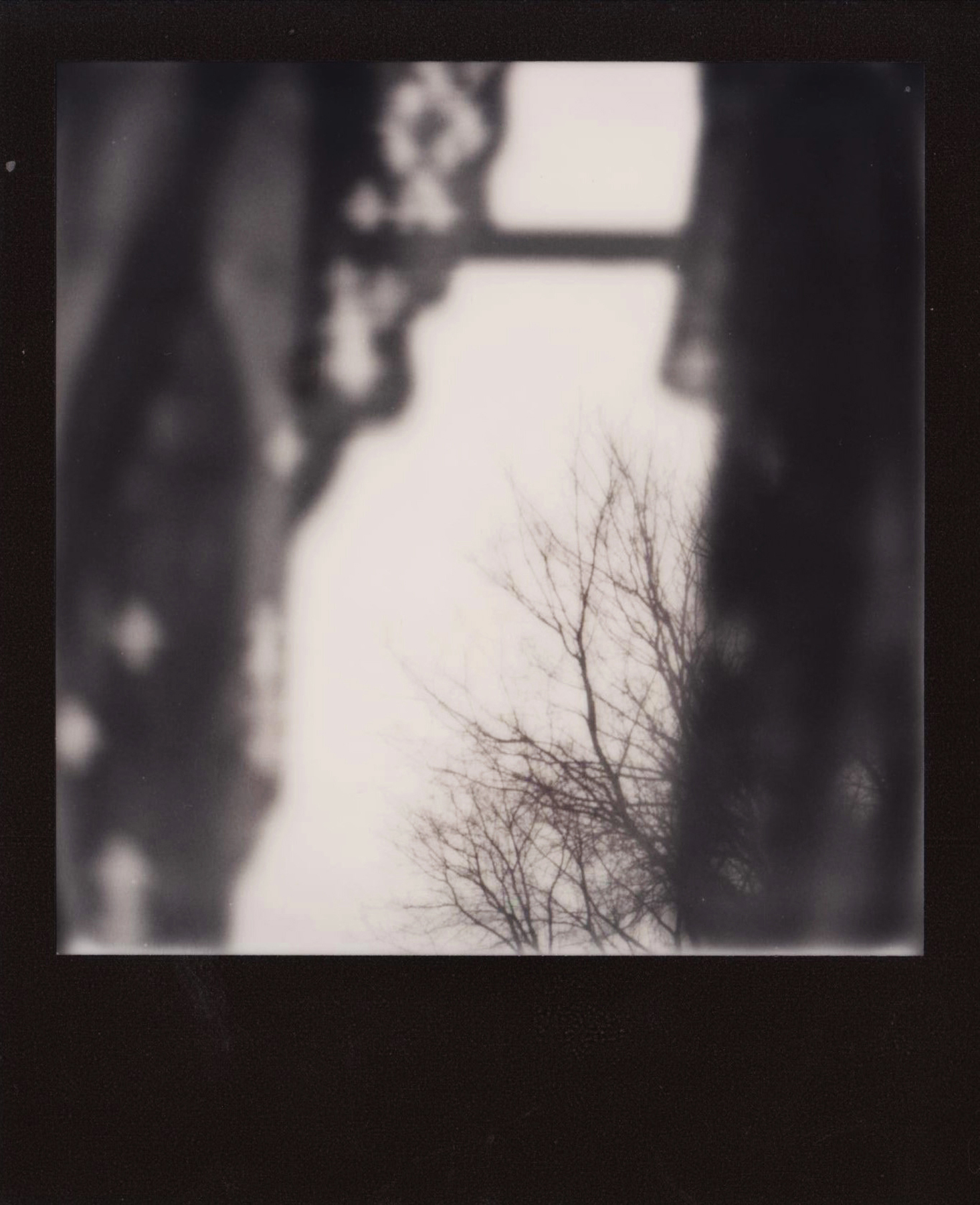 Abigail Crone |Winter Feeling |SX70 |Impossible Project Black and White