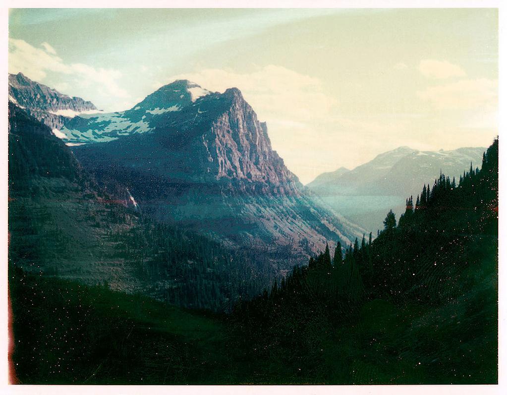 Sol  -Glacier National Park, MT.