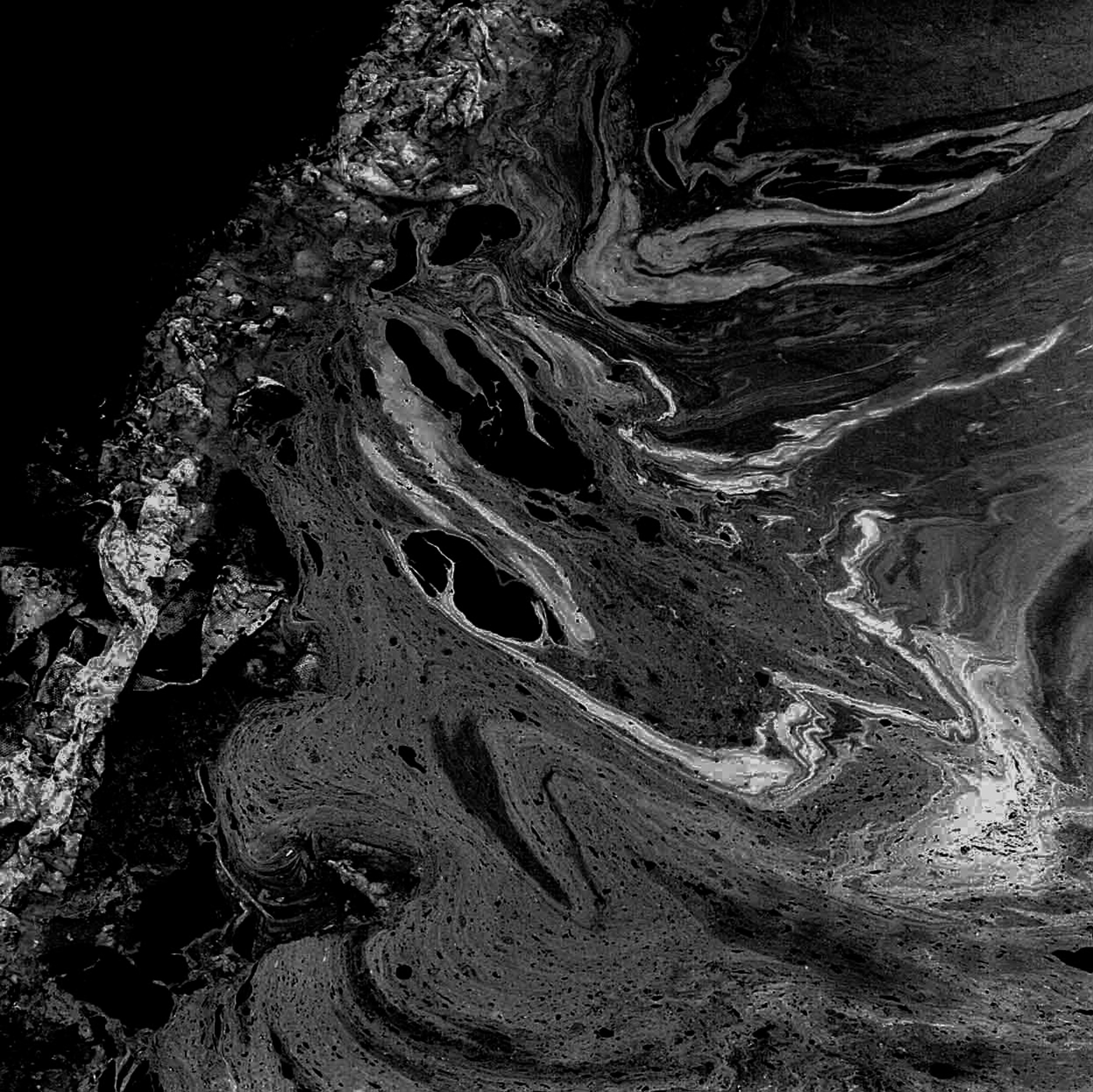 Water Abstract 2 | Hasselblad 500CM , Kodak TriX | James Jasek
