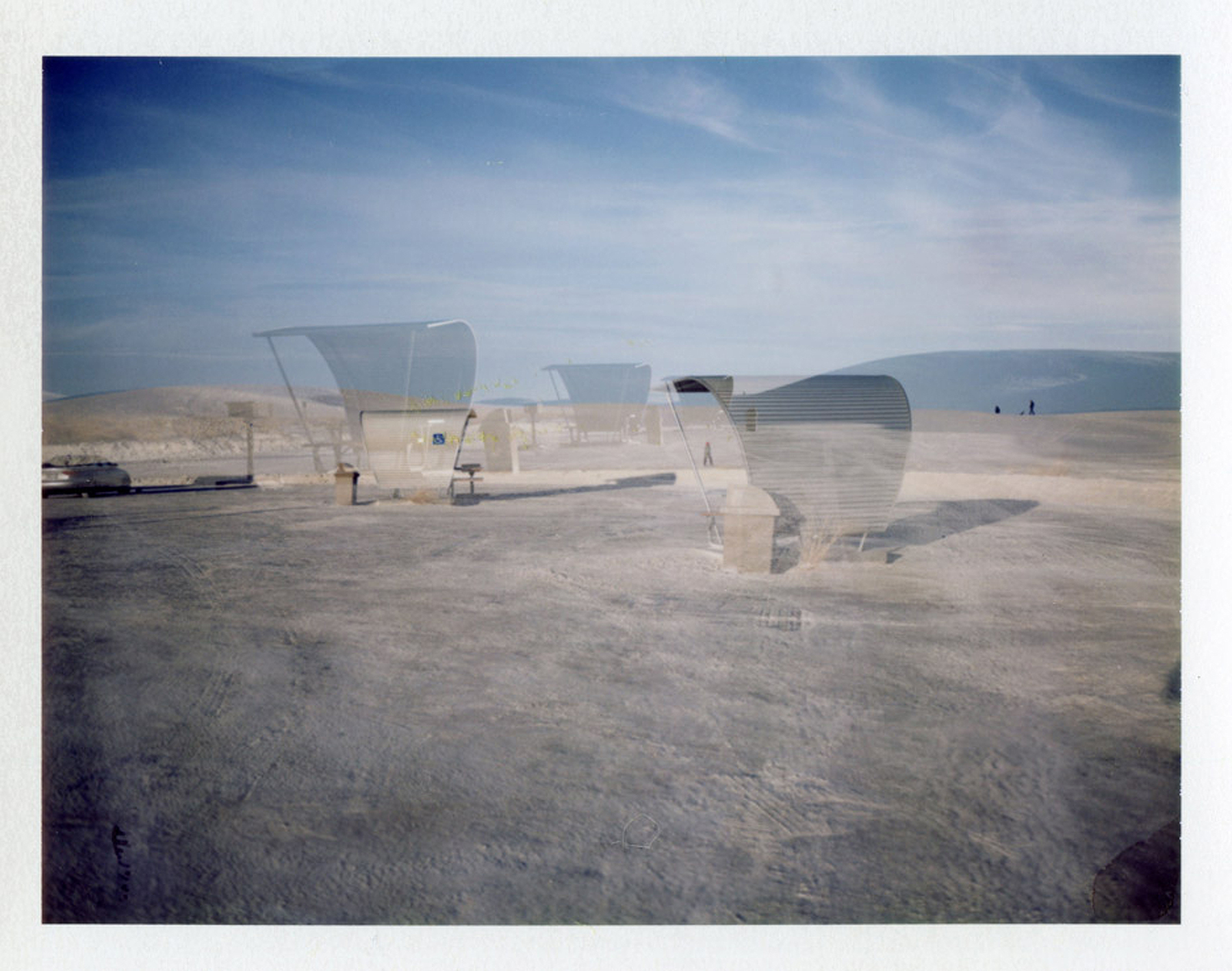 White Sands | Polaroid Automatic 100 Land Camera | Barbara Justice