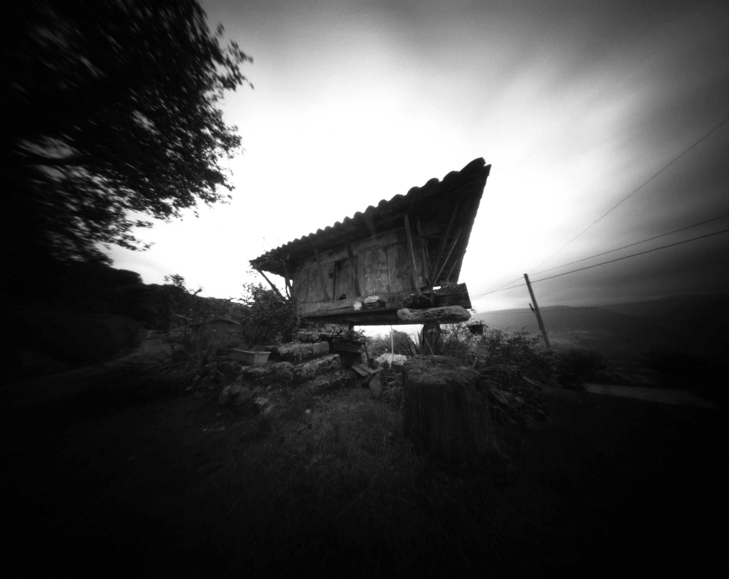 Horru - Argandenes, Asturias, Spain - Fomapan 200 ASA in a Zero Image 45 pinhole camera