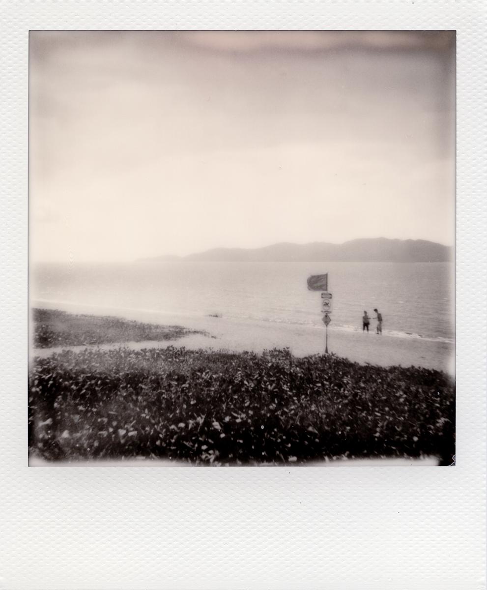 The Strand | Polaroid 670 | Impossible BW | Greg Williamson