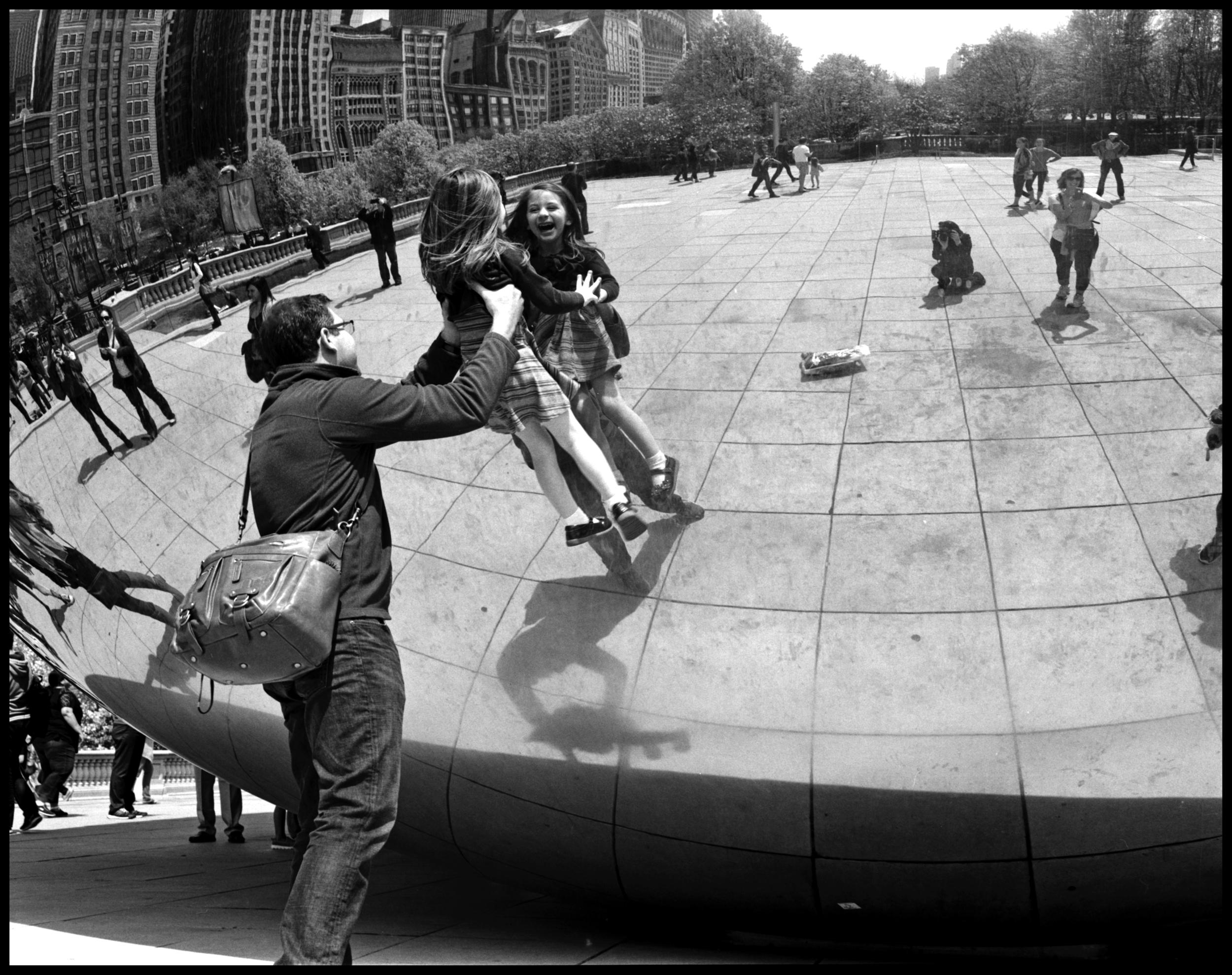 The Bean, Chicago, IL | Pentax 67II | Kodak Tri-X | Ellen Goodman