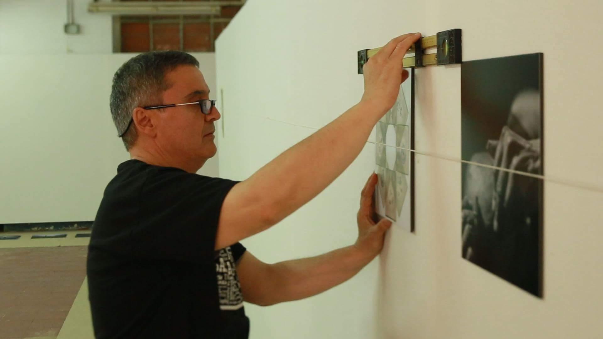 The one and only Jesús Joglar at the FSC NSEW Exhibition © Jesús Joglar