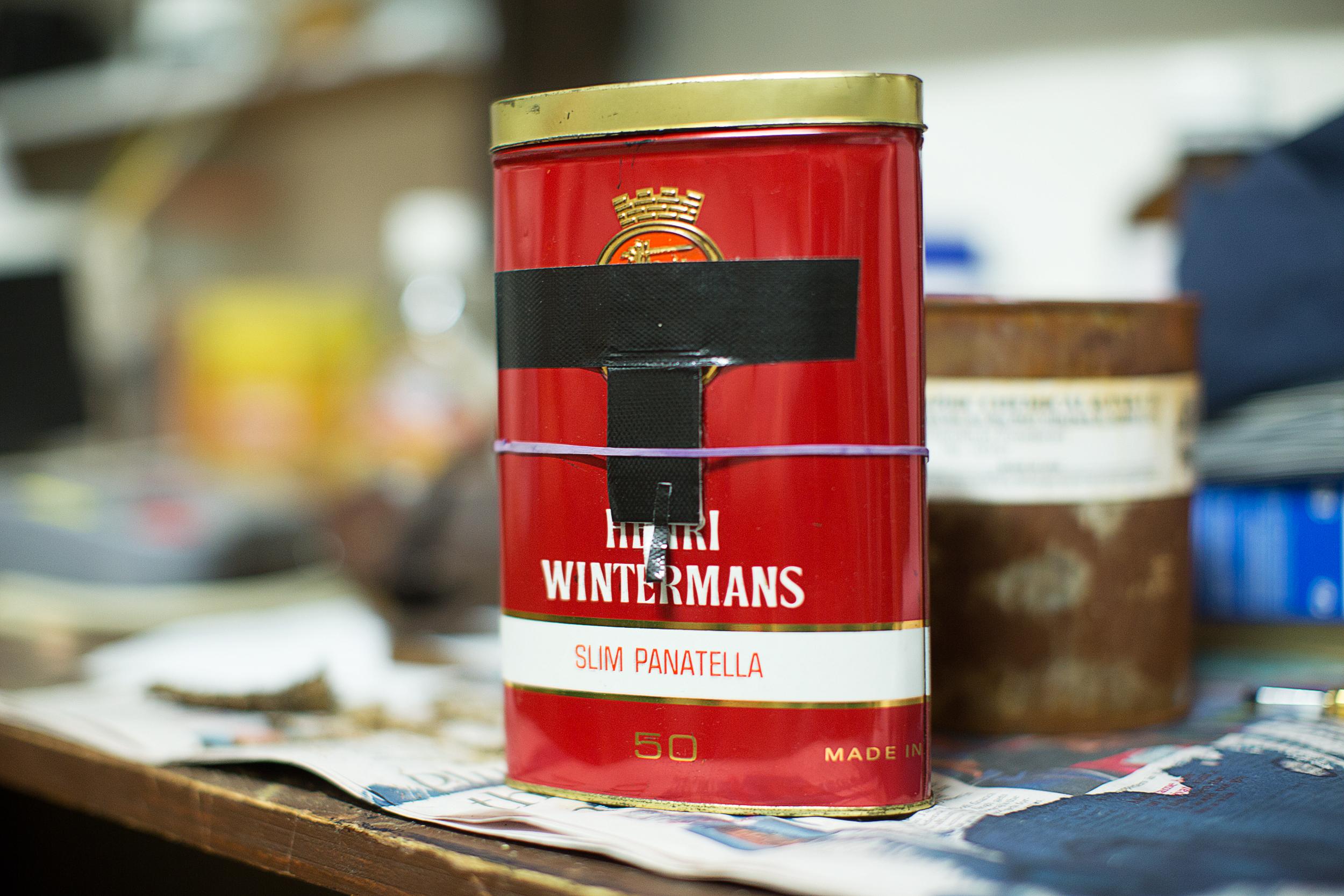 Cigar Tin Pinhole Camera