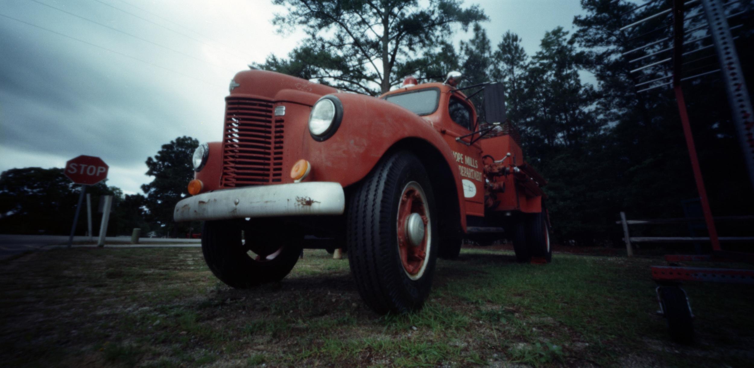 Old Fire Truck | Holga 120 WPC | Lomo 100 | Bobby Kulik