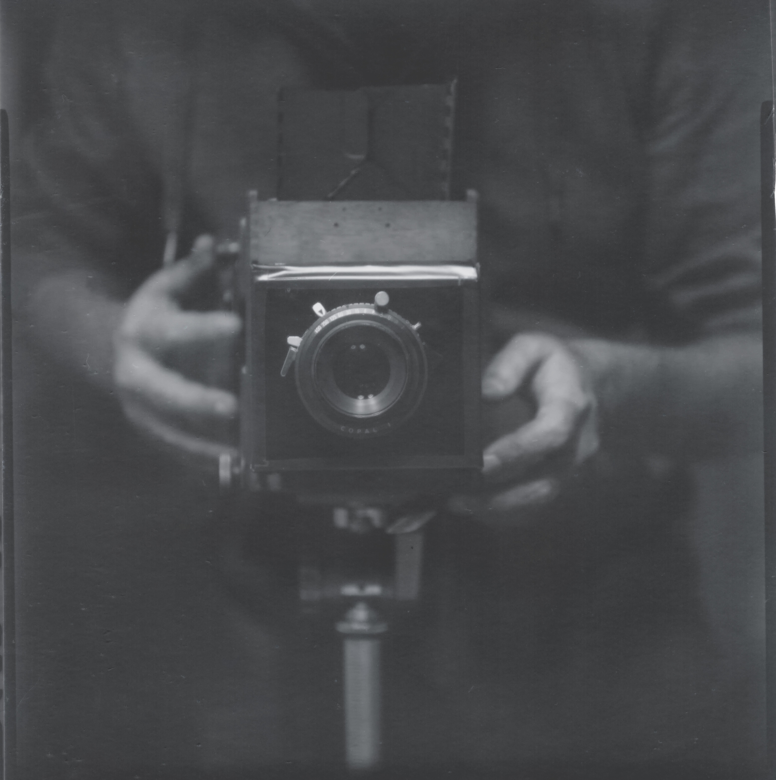 Kelly-Shane Fuller | Self | Ilford RC Paper | Modified 1919 Graflex RB Series-D SLR